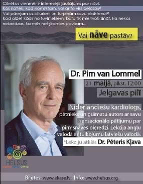 Vai NĀVE pastāv?Pētījums par pirmsnāves pieredzi, Kardiologs Dr. Pims van Lommels