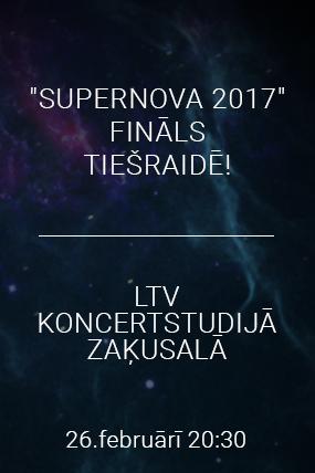 Supernova tiešraide. FINĀLS.