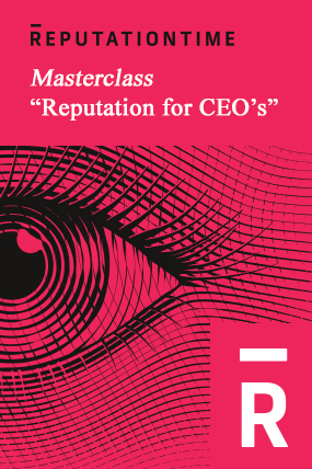 """Masterclass """"Reputation for CEO's"""" by Christophe Ginisty"""