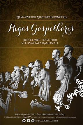 Rīgas Gospelkora Ziemassvētku akustiskais koncerts