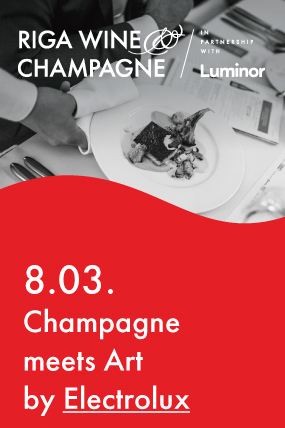 Champagne meets Art by Electrolux