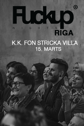 FuckUp Nights Riga // Vol.5