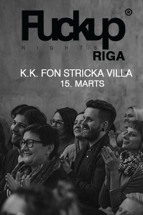 FuckUp Nights Riga // Vol.5