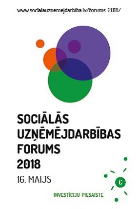 Sociālās uzņēmējdarbības forums 2018