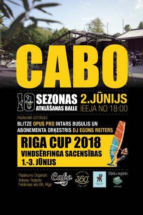 Cabo DESMITĀS sezonas atklāšanas balle