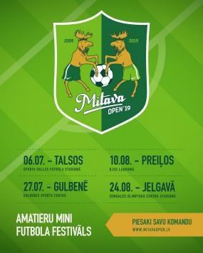 "Amatieru minifutbola festivāls ""Mītava Open"""