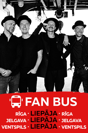 Autobusu Tūre uz Prāta Vētras koncertu