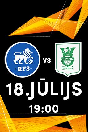 FC RFS vs OLIMPIJA LJUBLJANA