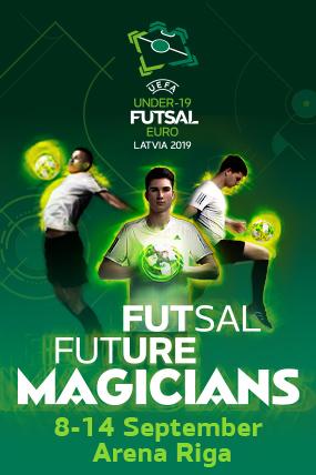 U19Futsal EURO final tournament | LATVIA 2019