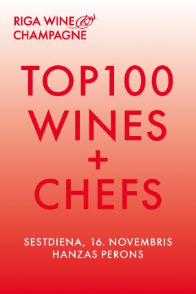 TOP100 WINES + CHEFS
