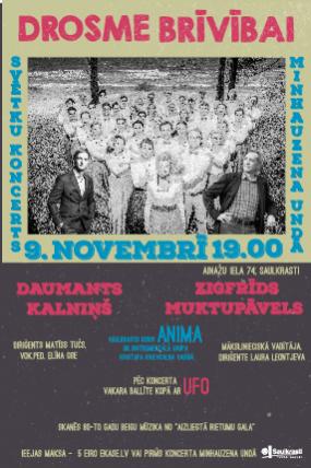 Concert DROSME BRĪVĪBAI