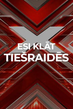 """TV3 TV show - concert """"X-Faktors"""""""