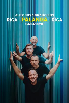 Autobusa brauciens uz Prāta Vētra koncertu (Rīga - Palanga - Rīga)