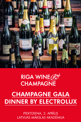CHAMPAGNE GALA DINNER BY ELECTROLUX
