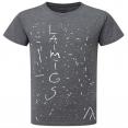 "мужчина футболка ""Laimīgs"""