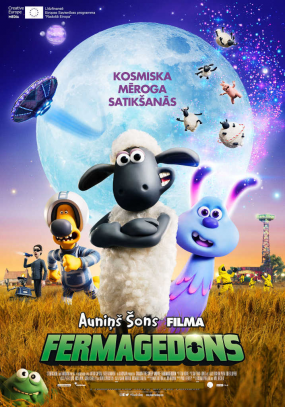 Auniņš Šons filma: Fermagedons (A Shaun the Sheep Movie: Farmageddon)