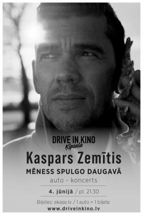 """Kaspars Zemītis autokoncerts """"Mēness spulgo Daugavā"""""""