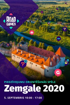 Roadgames Zemgale 2020 (komandas biļete)