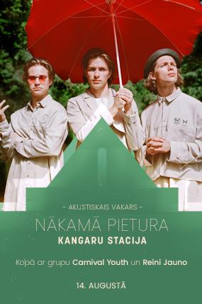 Nākamā pietura – Kangaru stacija