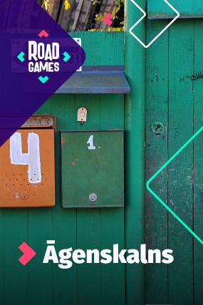 Roadgames adventurous scavenger hunt game in Agenskalns!