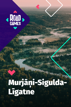 Roadgames adventurous scavenger hunt game in Murjani-Sigulda-Ligatne route!
