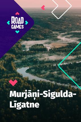 Roadgames игра на ориентировке приключений в маршруте Мурьяни - Сигулда – Лигатне!