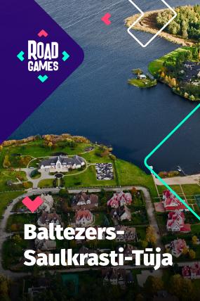 Roadgames игра на ориентировке приключений в маршруте Baltezers-Saulkrasti-Tuja!