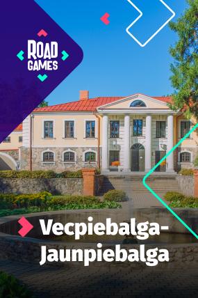 Roadgames игра на ориентировке приключений в маршруте Вецпиебалгa-Яунпиебалгa!