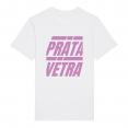 "T-shirt ""Prāta Vētra Feels"" pink"