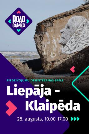 "A scavenger hunt game ""Liepaja-Klaipeda 2021"""